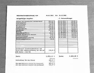 Pauschale Abrechnung : nebenkostenabrechnung ii regelung der nebenkosten im ~ Themetempest.com Abrechnung