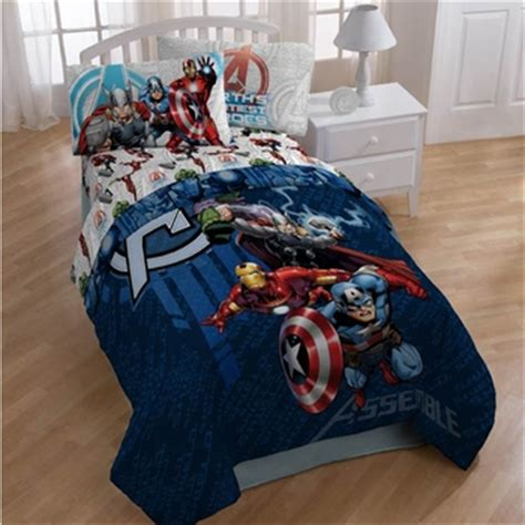 avengers quot earth s mightiest heroes quot kids bedding in twin