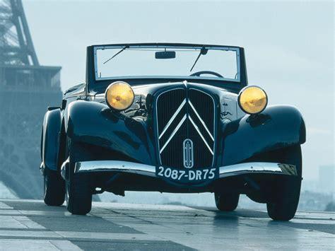 1934 1945 Citroen Traction Avant Cabrio Autoguru