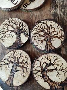 Best, Wood, Burning, Art, Pyrography, Tree, Slices, Ideas