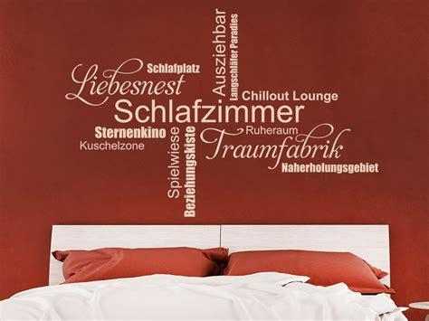 Wandtattoo Schlafzimmer Traumfabrik by Wandtattoo Schlafzimmer Liebesnest Traumfabrik