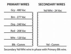 24v Transformer 120 To 24 Volt Transformer Wiring Diagram