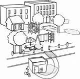 Neighborhood Clipart Drawing Neighbourhood Buildings Park Apartment Clip Various Clipartpanda Sa Pdf Terms sketch template