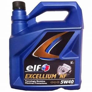 Diesel Excellium : aceite elf excellium nf 5w40 5l mejor precio ~ Gottalentnigeria.com Avis de Voitures