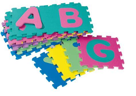 tapis de sol puzzle jouet puzzle de sol tapis mousse enfant b 233 b 233 dalles alphabet abc
