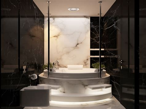 perfect marble details  ideas  bathroom designs