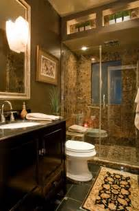 houzz bathroom ideas brown marble bathroom