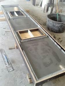 Arbeitsplatte Küche Beton : betonarbeitsplatte google suche kitchens concrete ~ Watch28wear.com Haus und Dekorationen