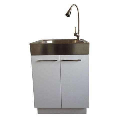 Stainless Steel Laundry Sink by Presenza All In One 24 2 In X 21 3 In X 33 8 In