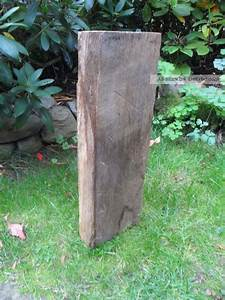 Eichenbalken Deko Alt : alter eichenbalken stele skulptur garten deko eichenholz altholz ~ Sanjose-hotels-ca.com Haus und Dekorationen