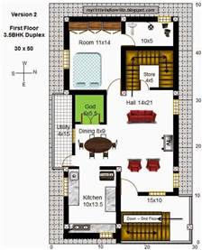 building floor plan my indian villa 43 r36 3 5bhk duplex in 30x50
