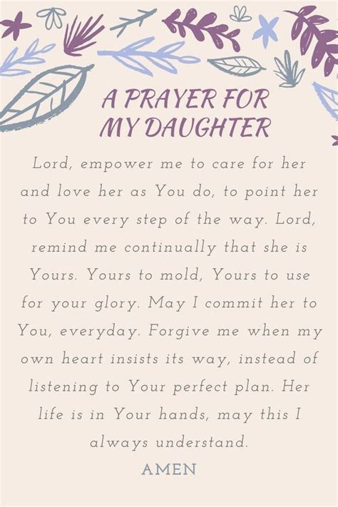 prayer  daughters mother  daughter mom prayers