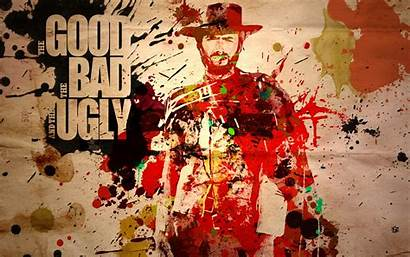 Eastwood Clint Ugly Bad Western Wallpapers Movies