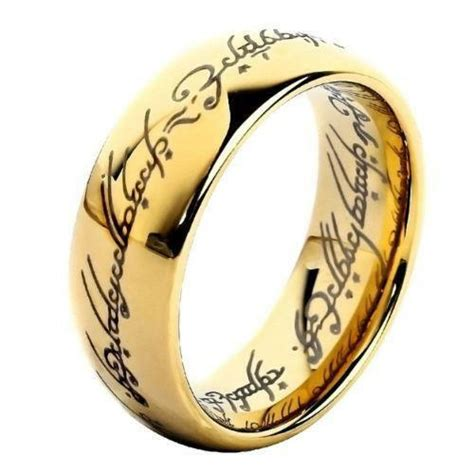 lord of the ring wedding ring lord of the rings wedding band ebay