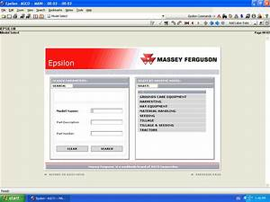Massey Ferguson Europe Spare Parts Catalog Download