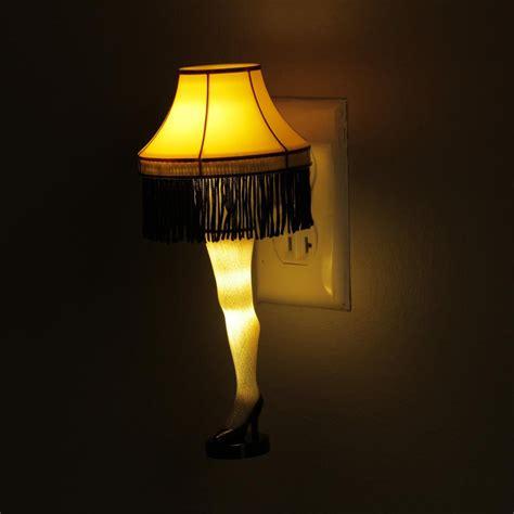 led christmas night lights leg l led night light from a christmas story