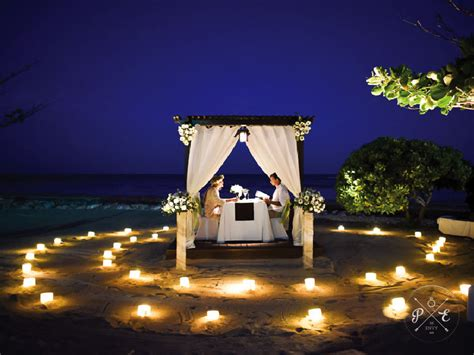 proposal envy  romantic private beach bali proposal