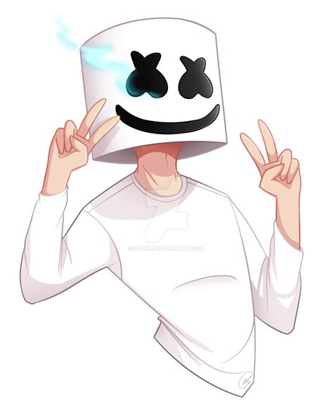 [fanart] marshmello by zitru on deviantart