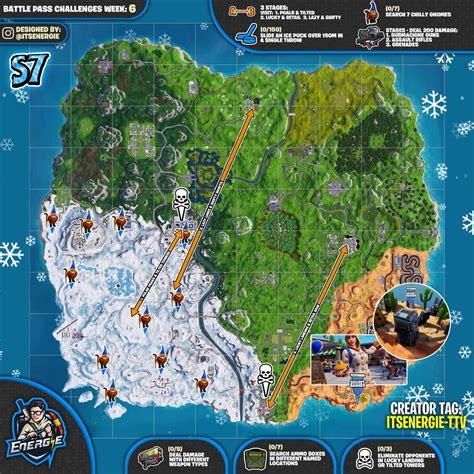 fortnite week 7 challenges fortnite sheet map for season 7 week 6 challenges