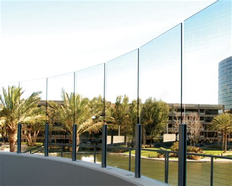 crl architectural railings aws aluminum windscreen system