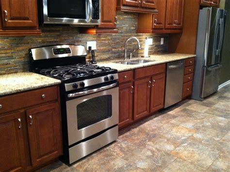 Kitchen Floor Ideas With Cherry Cabinets Nagpurentrepreneurs