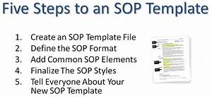 writing standard operating procedures writing sop With sales sop template