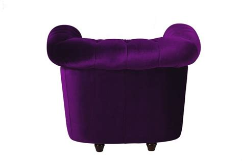 canapé violet photos canapé chesterfield velours violet
