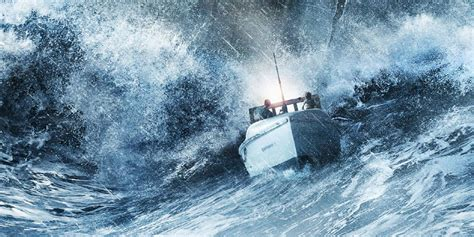 Fishing Boat Storm Movie by The Finest Hours Trailer Chris Pine Battles The Perfect