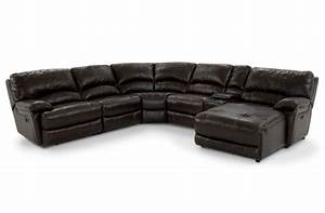Leather sofa bob39s furniture home sweet home pinterest for Bob s leather sectional sofa