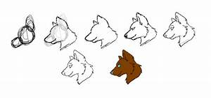 I draw wolf heads side view by Rubylockheartwolf on DeviantArt