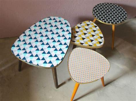 customiser ses meubles avec des chutes de papier peint