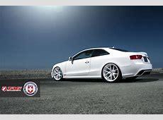 White Audi RS5 on HRE Wheels Looks Classy autoevolution
