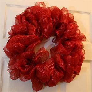 How, To, Make, A, Mesh, Ribbon, Wreath
