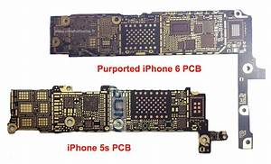 Bare Iphone 6 Logic Board Surfaces  Claimed To Support Nfc