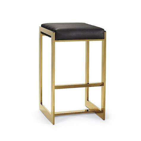 alpha brass gold bar stools