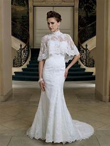 2012 bridal style trend cape toppers onewed With cape for wedding dress