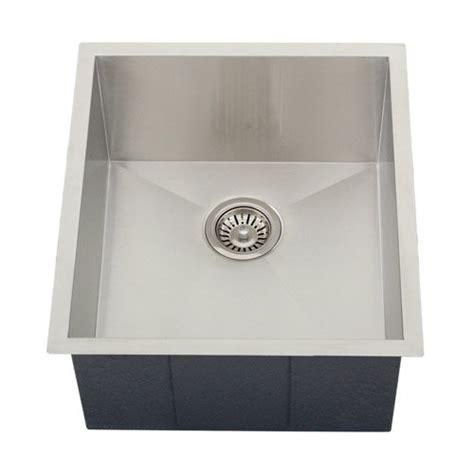 Ticor Vs Kraus Sinks by Ticor Undermount 16 Stainless Steel Single Bowl