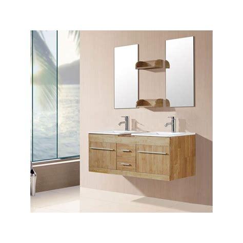 salle de bain naturel meuble salle de bain de luxe en bois massif ref sd931bn