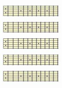 Guitar Fretboard Chart Download Free Clip Art With A