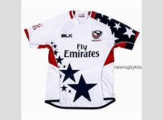 New USA Sevens Jersey 2016 BLK US Eagles 7's Kits 2016