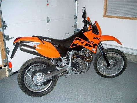 Ktm Lc4 640 Enduro 2003 For Sale From St Lazare Quebec
