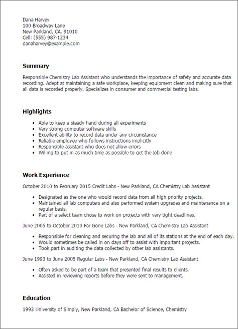 science resume templates  impress  employer livecareer