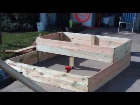 Building A Double Decker  Ee  Raised Ee    Ee  Bed Ee   With Trellis Youtube