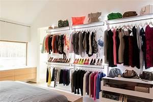 Dressing Petit Espace : se retrouver dans son dressing m me dans un petit espace ma deco maisons ~ Teatrodelosmanantiales.com Idées de Décoration