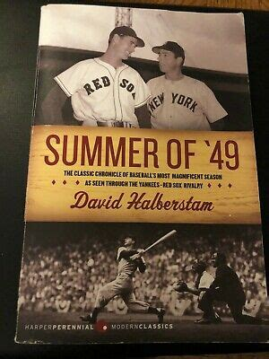 SUMMER OF '49 - Yankee /Red Sox Rivalry by David ...