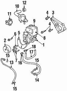 Pontiac Firebird Power Steering Reservoir  Pump  Cooler