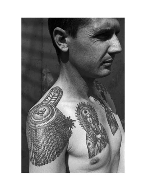 The Secret Meanings Of Russian Prison Tattoos - Pop