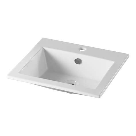 vasque a encastrer vasque blanche de forme carr 233 e pour votre plan vasque 112010