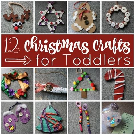 easy christmas crafts  toddlers easy christmas