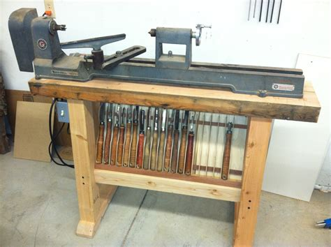 wood lathe table plans  woodworking
